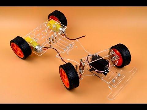 Колесный робот на ардуино