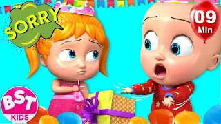 BABY & SISTER FUNNY SONG | GOOD or NOT ?? - 3D Nursery Songs for Children