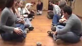 Electric Hands -- Duct Tape Teambuilding Game