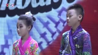 Hoàng Sơn - Thùy Dương - Bước Nhảy Hoàn vũ nhí vòng đối đầu 15/08/2014