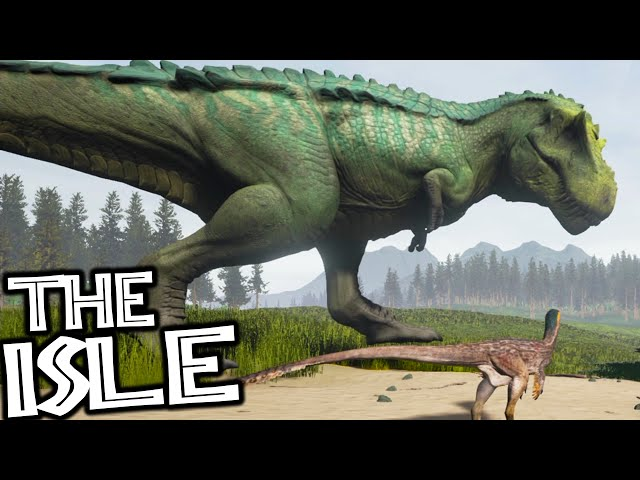 The Isle - HYPO REX HUNTING, HYPERENDOCRINE MEGA REX (Early Access Gameplay)