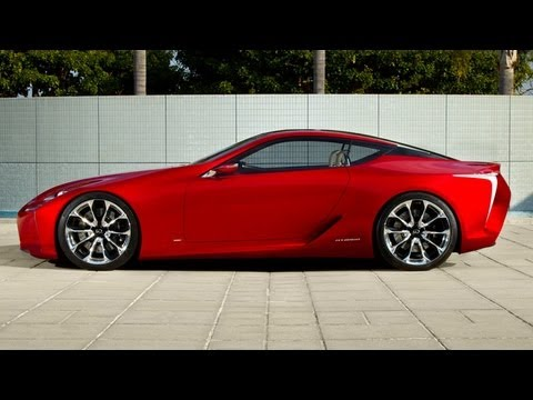 Lexus LF-LC Concept -- 2012 Detroit Auto Show