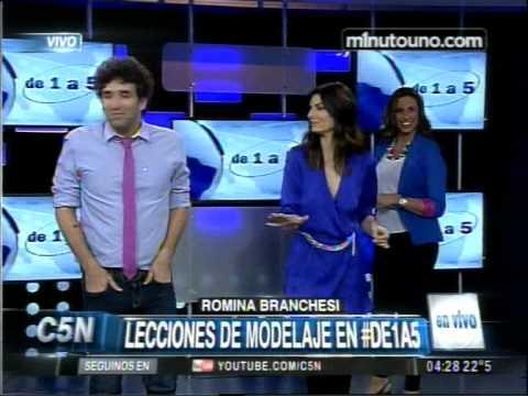 C5N - DE1A5:LECCIONES DE MODELAJE CON ROMINA BRABCHESI
