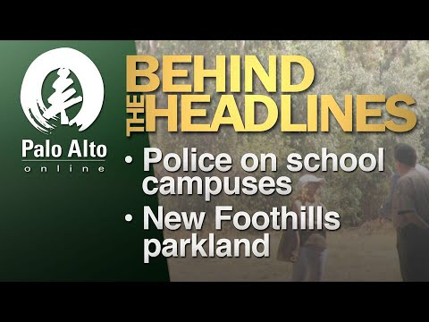Behind The Headlines - Police conduct on campuses, new parkland