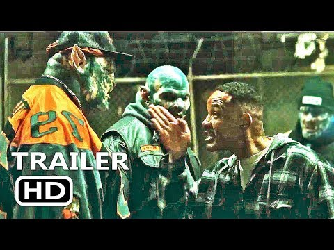 BRIGHT New Official Trailer (2017) Will Smith Film Action, Crime, Fantasy streaming vf