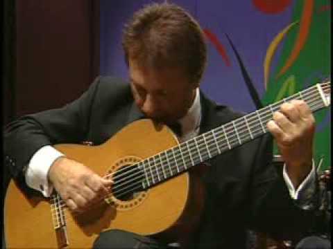 Angel Romero plays Concierto Antillano II Movement by Ernesto Cordero