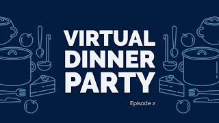 Virtual Dinner Party | Ep 2 | Lemon Chicken with Potato & Roasted Carrots  | Low Sodium Recipe