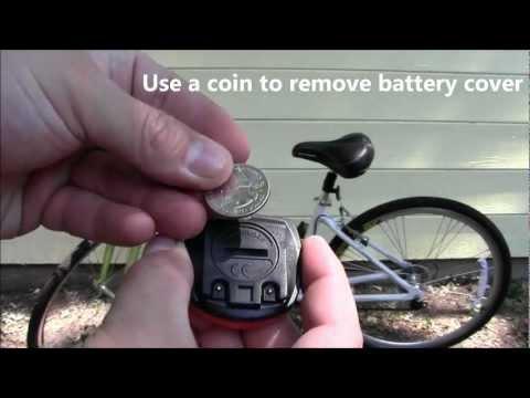 Schwinn Bike Computer Install (Speedometer)