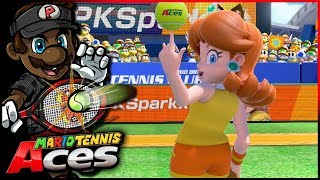 The LONGEST Opening Match Ever!   Mario Tennis Aces w/ @PKSparkxx! [#08 - Daisy]