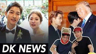Song Song Couple / EXO X TRUMP / Bighit, JYP Big Moves!!! [D-K NEWS]