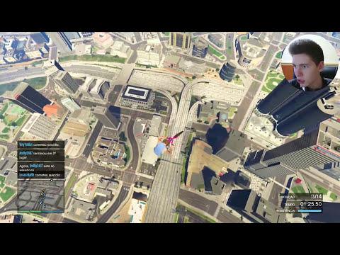 GTA V Online: CIRCUITO de BMX no CÉU! - Profissionalidades #01