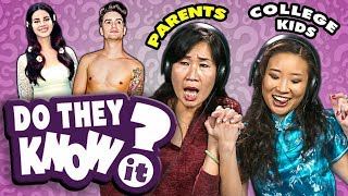 Do Parents Know Their College Kids' Favorite Songs? | React: Do They Know It?