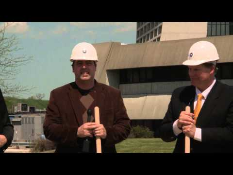 Fermilab Muon Experiment Building Breaks Ground