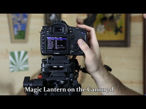 Canon 7d Magic Lantern Alpha firmware update - DSLR FILM NOOB