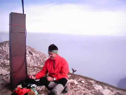 SOTA and Watt for Miles QRP_Telegrafo Monte Baldo VR