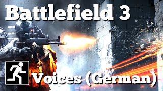 Battlefield 3 | Voice / Command / Commo Rose | German / Deutsch