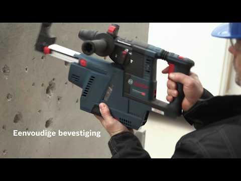 Bosch GDE 18V-16 Professional – de geïntegreerde stofafzuiging voor 18-volt-boorhamers