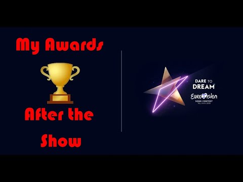 Eurovision 2019 My Personal Awards After The Show (30 Categories)
