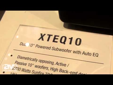 CEDIA 2015: Sunfire Displays Its XTEQ10 Powered Subwoofer, Available in 8″ 10″ and 12″ Models