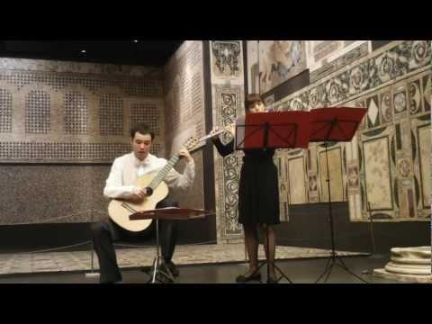 Nati-Ammendola duo – Castelnuovo-Tedesco: Sonatina per flauto e chitarra Op. 205