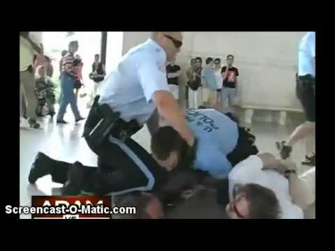 Kissing in Public Brutal Arrest May  28th 2011 Raw Video  (Plz Share)