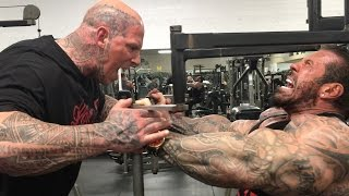 BIGGER BY THE DAY - DAY 23 - 6'8 330LB MARTYN FORD - KILLIN CHEST - 30LBS
