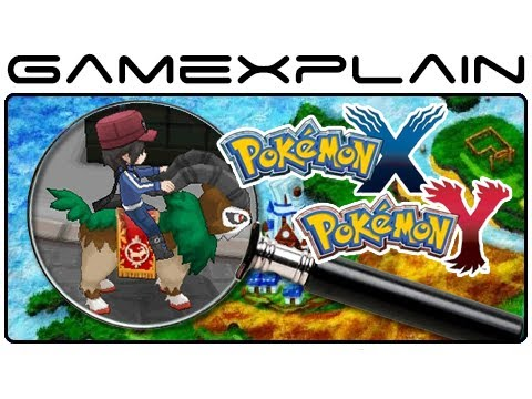 Pokemon X & Pokemon Y - Trailer & Map Analysis (Secrets & Hidden Details)