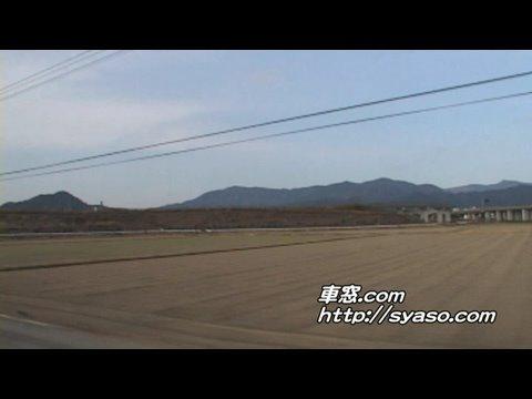 5)【車窓】「ハウステンボス」13号 肥前山口~武雄温泉