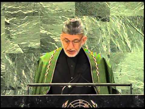 President Karzai's Speech at UNGA, Pashto Translation - September 25, 2012