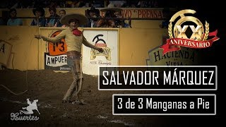 3 Manganas a Pie - Salvador Márquez XX Millonario THV 2017
