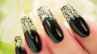 Glass Gel See -Thru Tip Coffin Nails