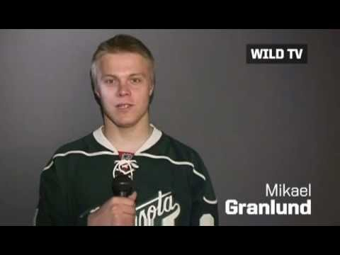 Mikael Granlund's Message To Wild Fans (May 23 2012)