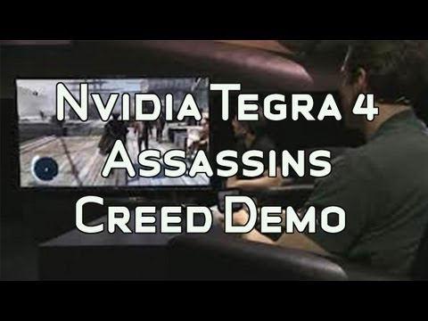 NVIDIA Project Shield: Tegra 4 Assassins Creed Demo