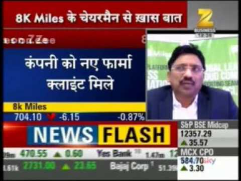 8K Miles Q3 results 17 - Zee Business with Mr. Suresh Venkatachari