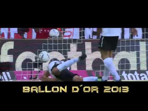 Messi vs Ronaldo vs Ribery ballon dor 2013