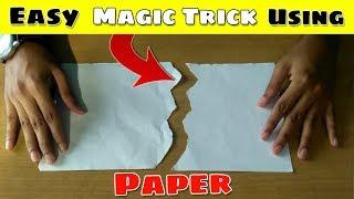 Easy Magic Trick Using Paper - Magic Trick 05 | Top Magic Tricks