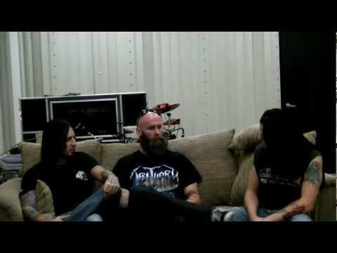 Distortia: 5FDP Jeremy Spencer&Chris Kael Interview / Hard To See / Far From Home Nov 5th 2011