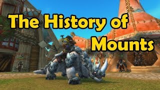 The History of Mounts in Game - WCmini Facts