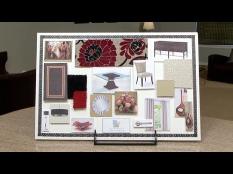 How To Make An Interior Design Color Board Youtube