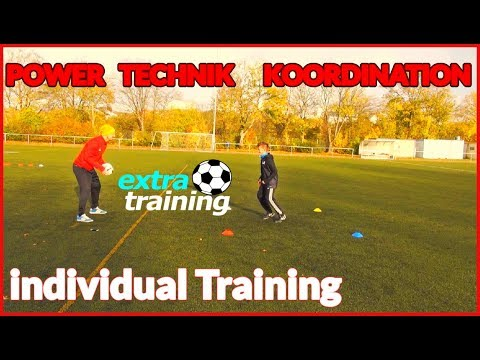POWER Technik Koordination TRAINING Fussball Football soccer