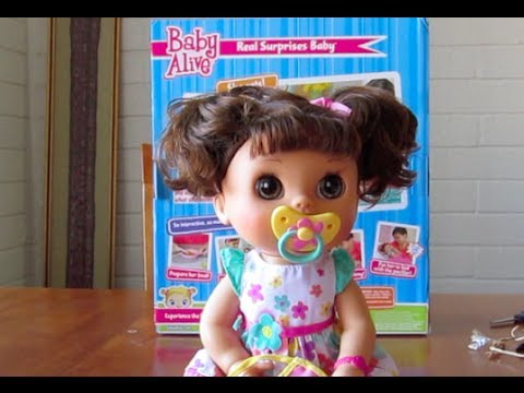 Baby Alive Real Surprises Baby Unboxing Youtube
