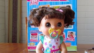 Baby Alive Real Surprises Baby Doll UNBOXING