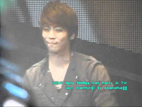 101107 Hello Shinee Fan Party In Tw[act Charming] video