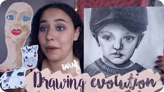 Reacting to My Old Drawings On My 18th Birthday!