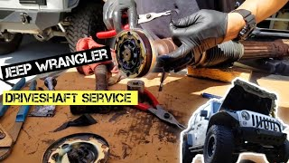 DriveShaft Boot  Replacement Jeep Wrangler Jk Failing cv joint service jl
