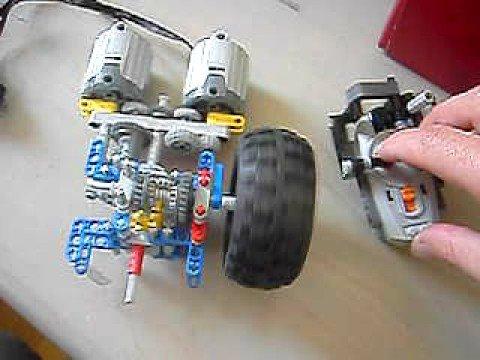 Lego pfs boite 4 vitesse youtube - Boite de rangement pour lego ...