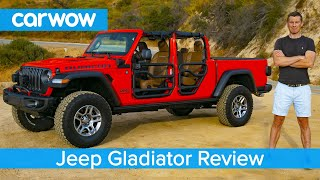 Jeep Gladiator 2020 in-depth review - see why it's the coolest 4x4 EVER!