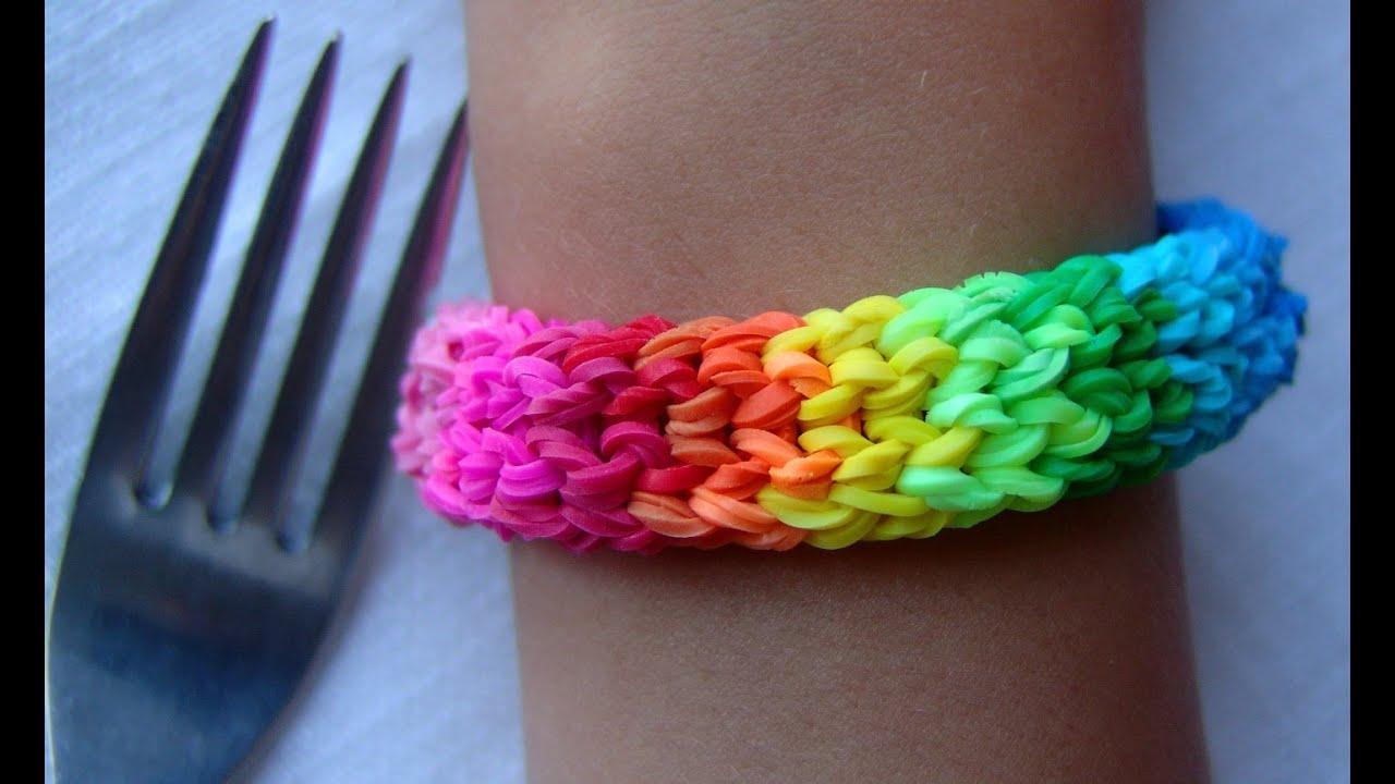 Плетение из резинок браслеты
