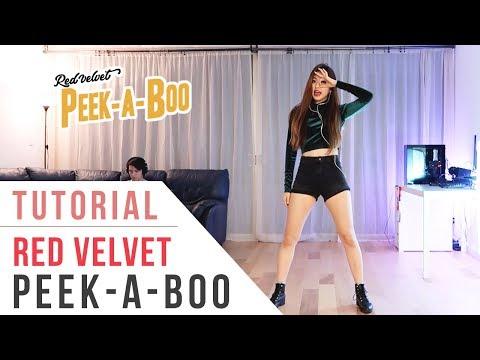 Red Velvet 레드벨벳 Peek-A-Boo (피카부) Dance Tutorial (Mirrored)   Ellen And Brian
