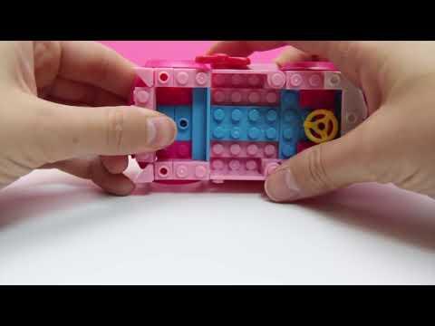 Hello Kitty Mega Bloks Hello Kitty Camper Van Caravana Lego Duplo Construction Blocks ハローキティ